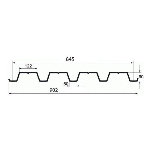 Профнастил Н 60-845