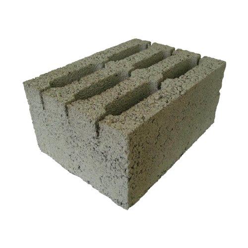 Керамзитобетонный блок М 75 6 ти пустотный
