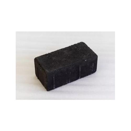 Плитка тротуарная Кирпич чёрная