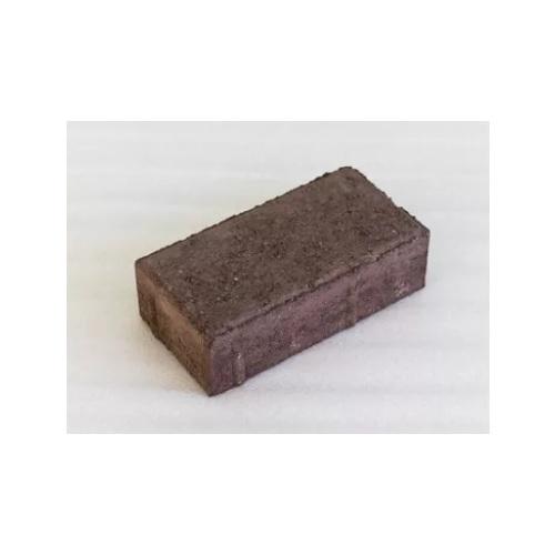 Плитка тротуарная Кирпич коричневая