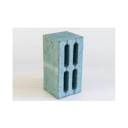 Шлакоблок 4-х пустотный М 75 синий