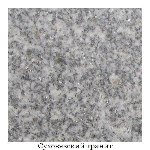 Суховязский гранит «Уфалейский»